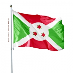 Pavillon Burundi tous les pays Unic