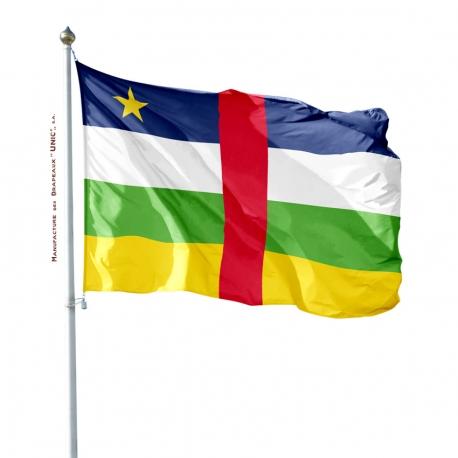 Pavillon Centrafrique Unic tous les drapeaux