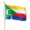 Pavillon Comores pays du monde drapeaux Unic