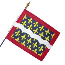 Drapeau Cher historique
