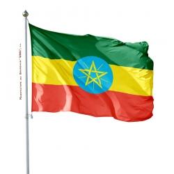 Pavillon Ethiopie drapeau du monde Unic