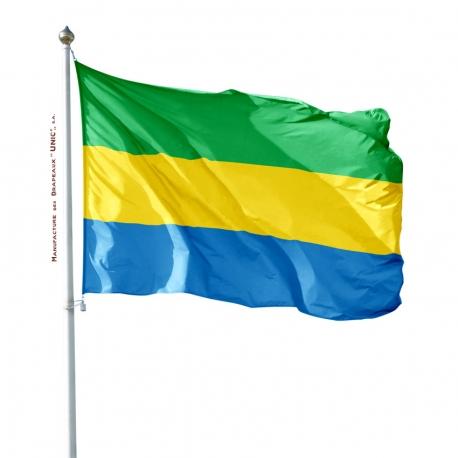 Pavillon Gabon tous les drapeaux du monde Unic