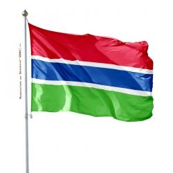 Pavillon Gambie drapeau pays Unic
