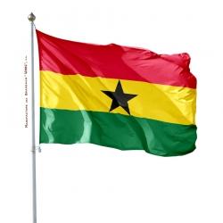 Pavillon Ghana fabrication drapeau Unic