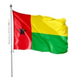 Pavillon Guinee Bissau fabrication drapeau Unic
