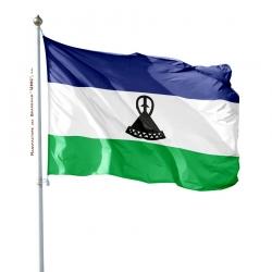 Pavillon Lesotho dans drapeau du monde Drapeaux Unic