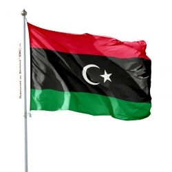 Pavillon Libye drapeau du monde Drapeaux Unic