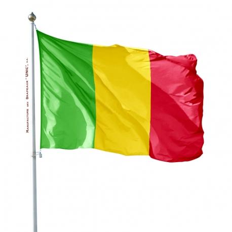 Pavillon Mali drapeau du monde Unic