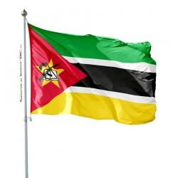 Pavillon Mozambique dans drapeaux des pays Unic