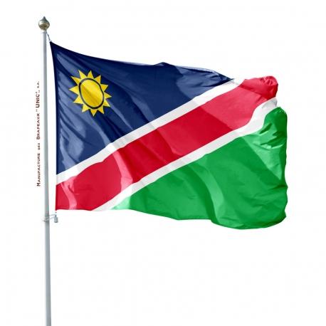 Pavillon Namibie tous les drapeaux Pays d'Afrique Unic