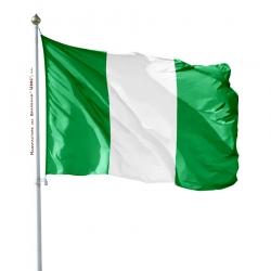 Pavillon Nigeria dans drapeau du monde Unic