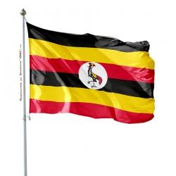 Pavillon Ouganda drapeaux des pays d'Afrique Unic