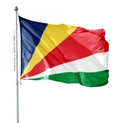 Pavillon Seychelles dans drapeaux des pays d'Afrique Unic