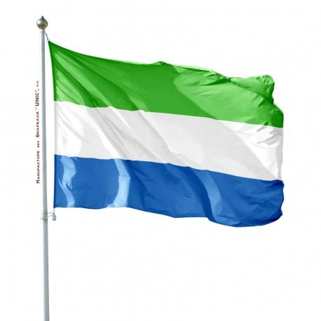 Pavillon Sierra Leone drapeaux des pays d'Afrique Unic