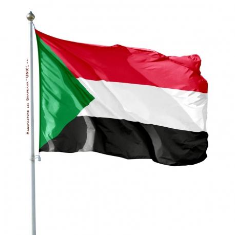 Pavillon Soudan drapeaux des pays d'Afrique Unic