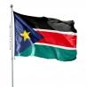 Pavillon SOudan du Sud drapeaux des pays d'Afrique