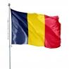 Pavillon Tchad dans drapeaux des pays d'Afrique Unic