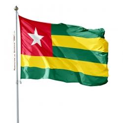 Pavillon Togo drapeaux des pays d'Afrique Unic