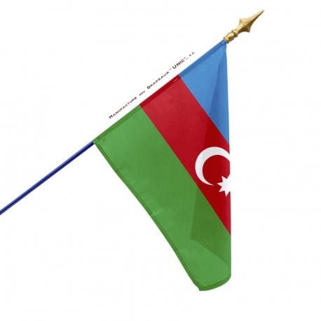 Drapeau Azerbaïdjan drapeau du monde Unic