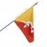 Drapeau Bhoutan pays du monde Unic