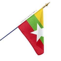 Drapeau Myanmar tous les drapeaux Unic