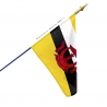 Drapeau Brunei drapeau du monde Unic