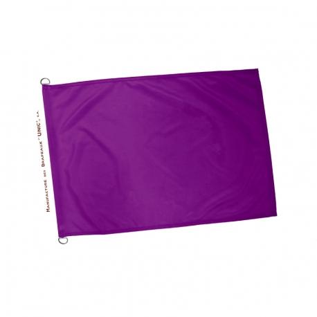 Drapeau violet plage - pavillon baignade