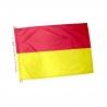 Drapeau rouge et jaune plage - pavillon baignade surveillée