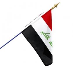 Drapeau Irak impression drapeau Unic