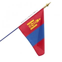 Drapeau Mongolie un drapeau des pays Unic