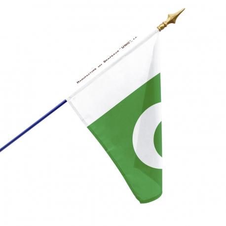 Drapeau Pakistan dans pays d'Asie