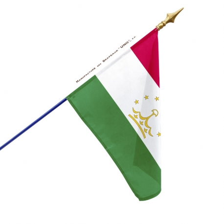 Drapeau Tadjikistan dans drapeaux des pays Unic