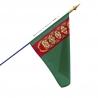 Drapeau Turkménistan dans drapeaux des pays Unic