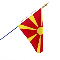 Drapeau Macedoine tous les drapeaux des pays Unic