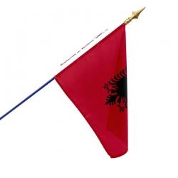 Drapeau Albanie drapeau du monde