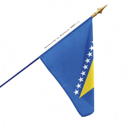 Drapeau Bosnie drapeau du monde Unic