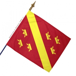 Drapeau Haut-Rhin historique