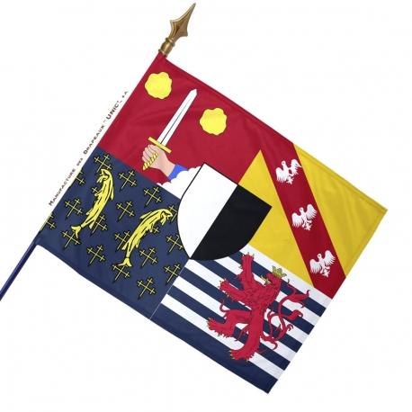 Drapeau Moselle historique