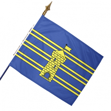Drapeau Territoire de Belfort historique