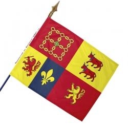 Drapeau Pyrénées Atlantiques historique