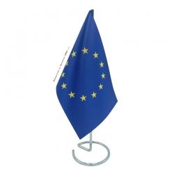 Drapeau de table Europe en tissu