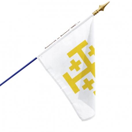 Drapeau Royaume de Jérusalem