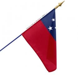 Drapeau Samoa en tissu de qualité à acheter