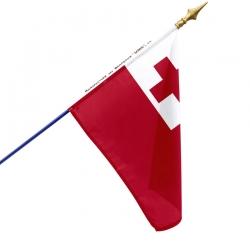 Drapeau Tonga en tissu