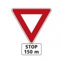 Panneaux d'intersection et de priorité - Type AB
