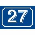 Plaques de rues et numéros de maison