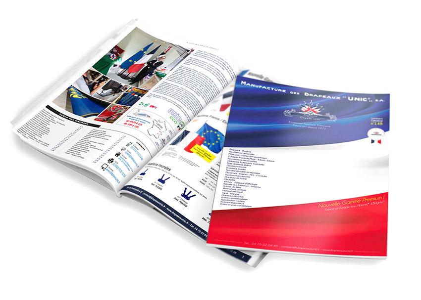Catalogue Drapeaux Unic fabricant de drapeaux
