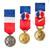 Médaille du Travail Drapeaux Unic