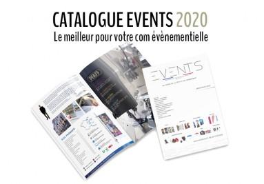Consulter notre Catalogue Events 2020 en ligne